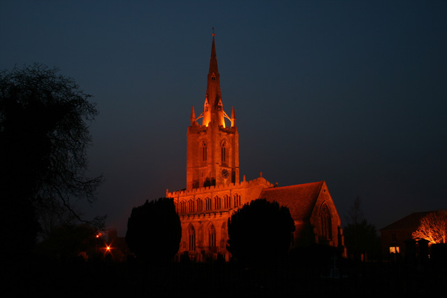 St. Andrew's Church at Night