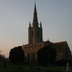 St. Andrew's Church at Sunset