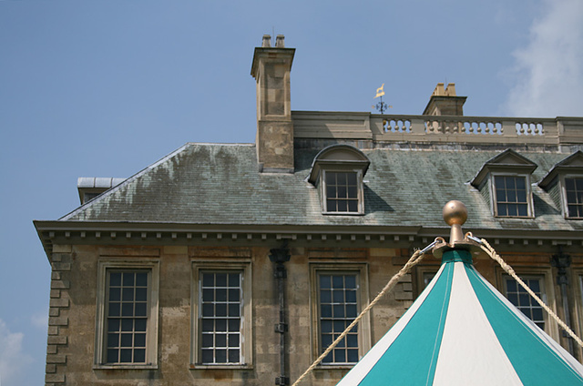 Belton House and Tent